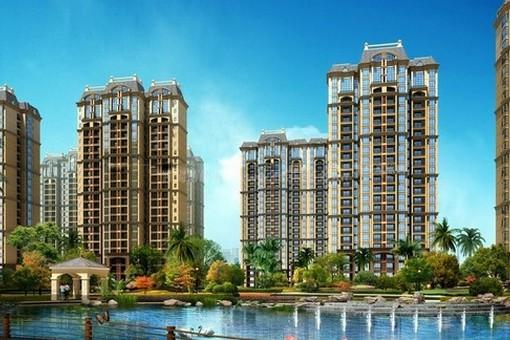 景园悦海湾项目20#、22号楼在做内部装修