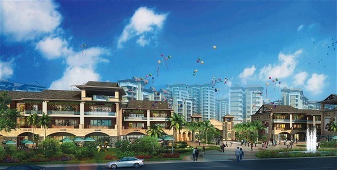 定安日广凤羽林温泉公园低密两房价格为73.5万/套 双城一体经济生活圈
