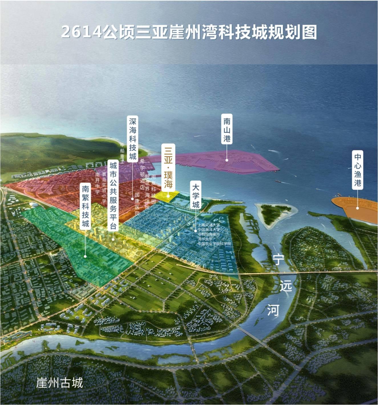 三亚濮海区位图