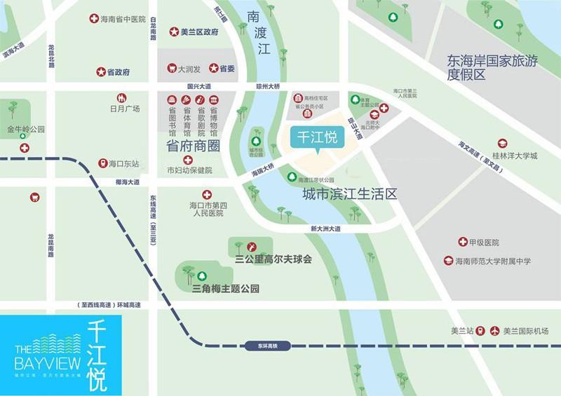千江悦区位图