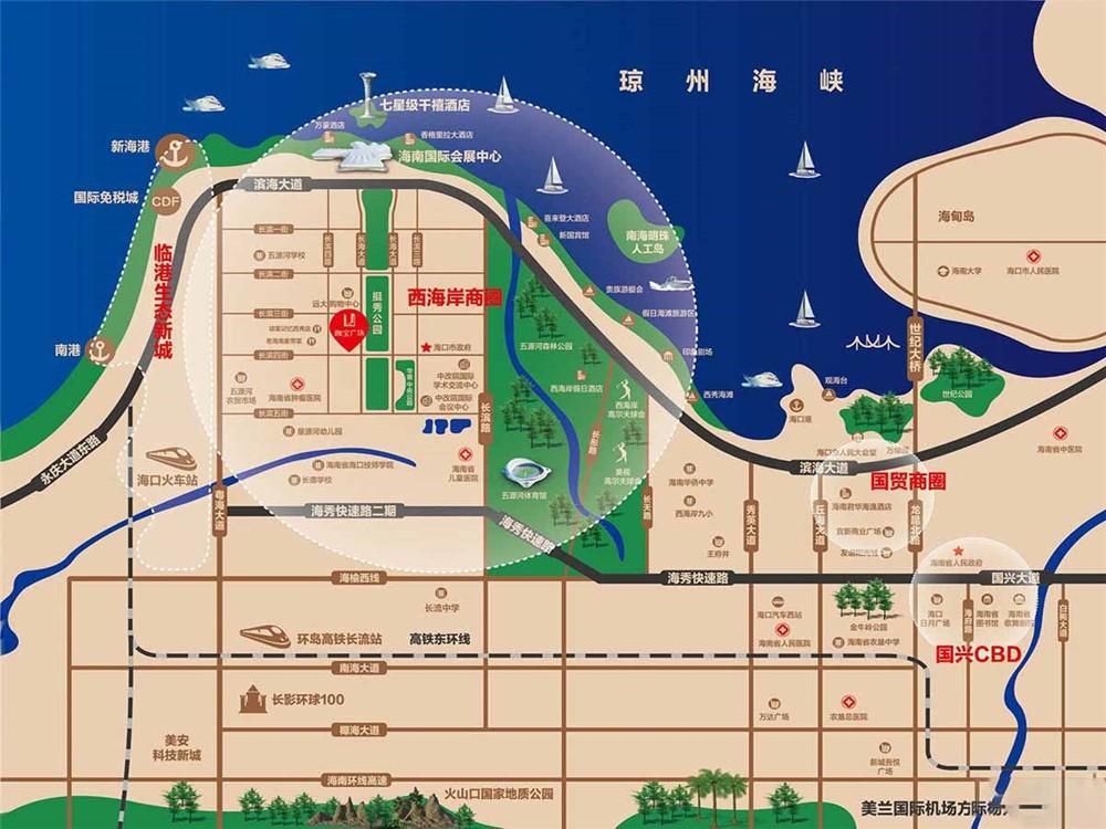 珈宝广场区位图