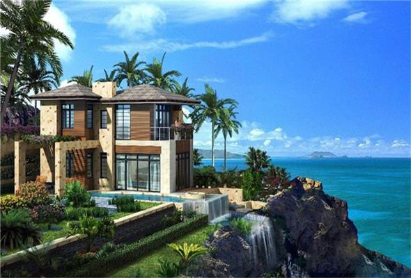 华凯南燕湾项目别墅在售总价约750万元/套起