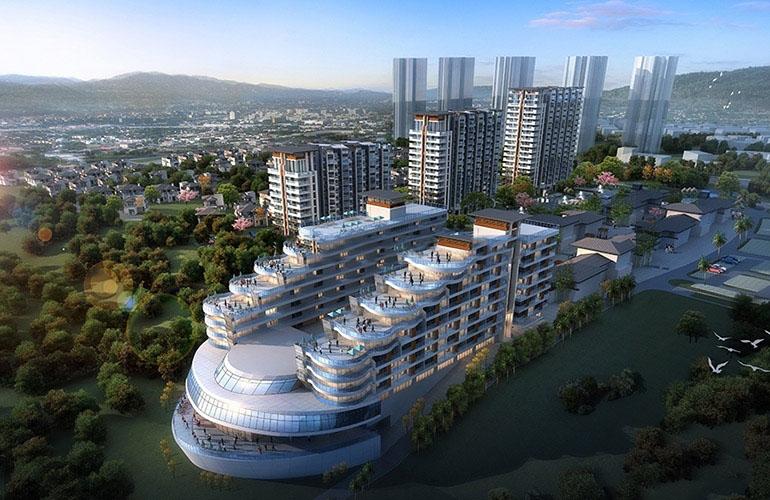 文昌富力月亮湾酒店式公寓在售