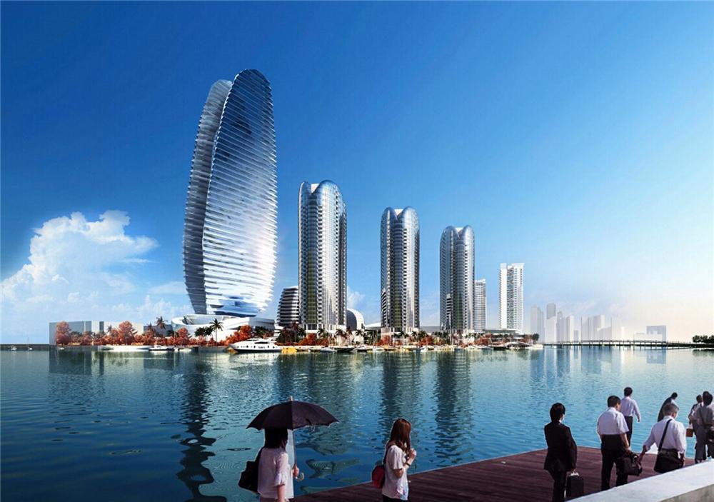 鸿洲天玺别墅房源在售 总价约2600-4000万/套