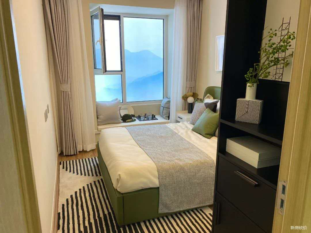 涿州观棠上境卧室装修效果图