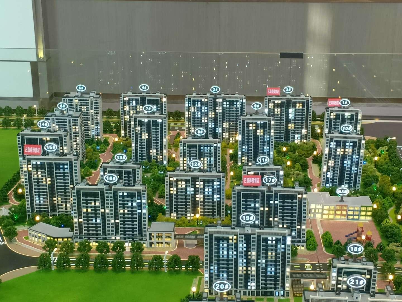 涿州海蓝城值得投资的楼盘规划沙盘