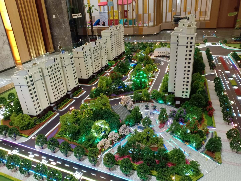 涿州学府澜湾楼盘规划沙盘