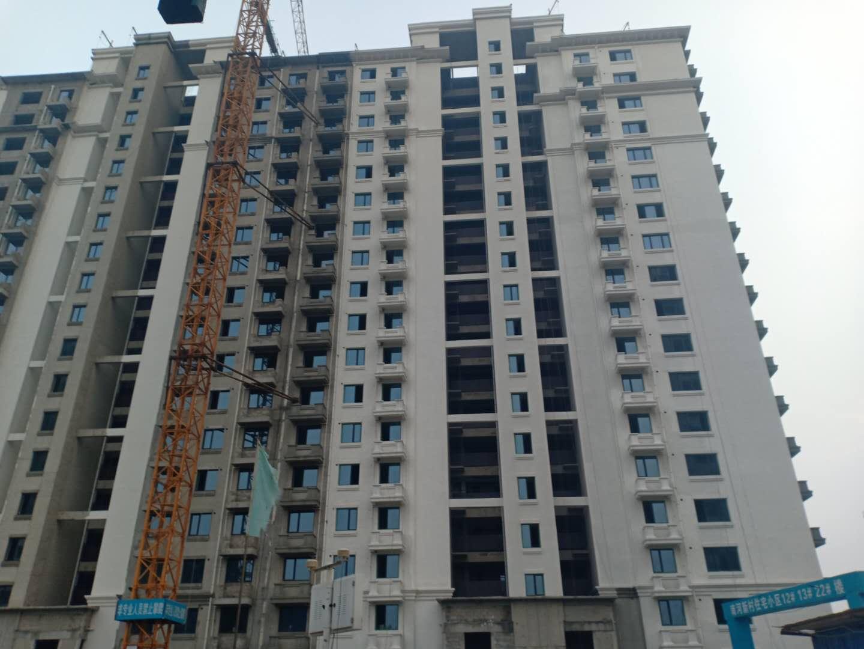 涿州印象城19号楼在建进度