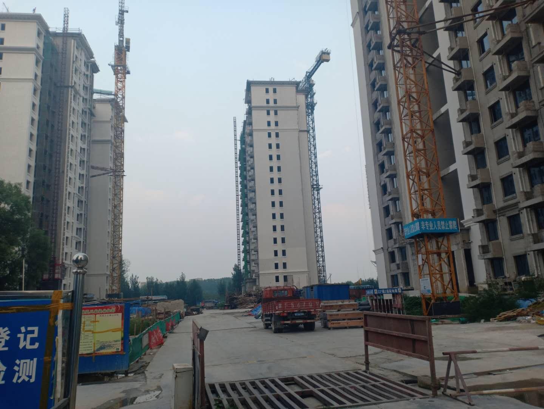 涿州印象城12#13#22#楼在建进度照片