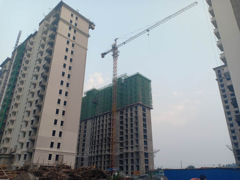 涿州印象城在建进度工地实景