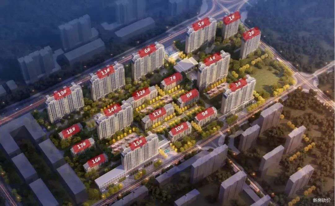 涿州观堂上境楼座分布图