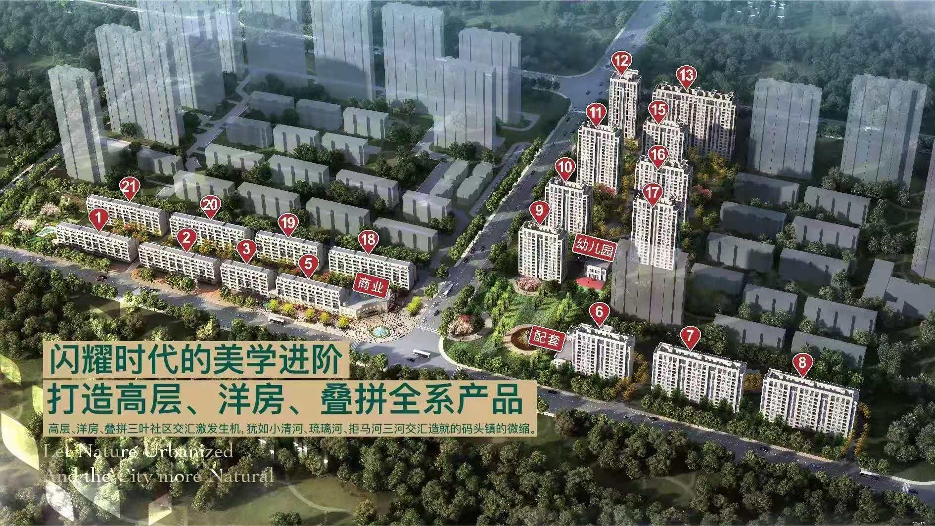涿州万科楼盘规划沙盘