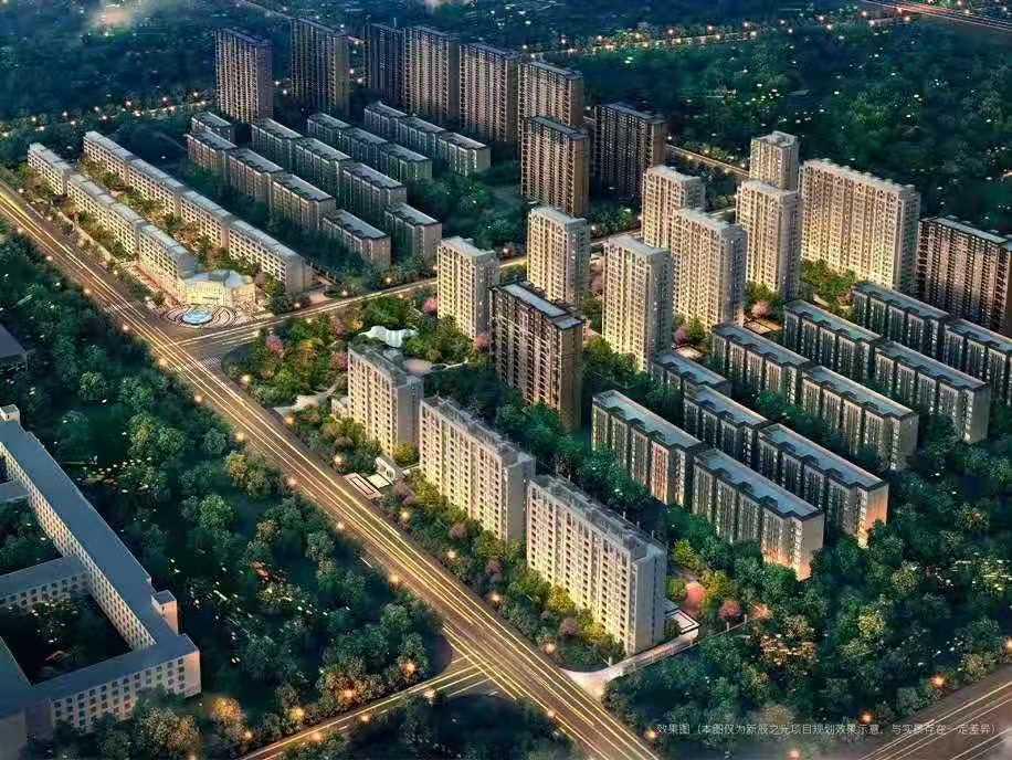 涿州万科新辰之光 规划沙盘