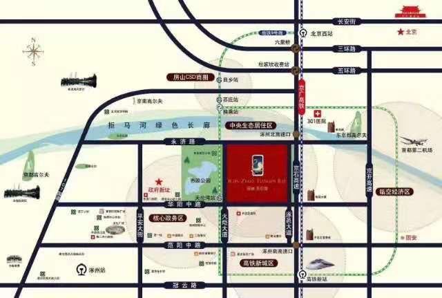 涿州观棠上境位置照片