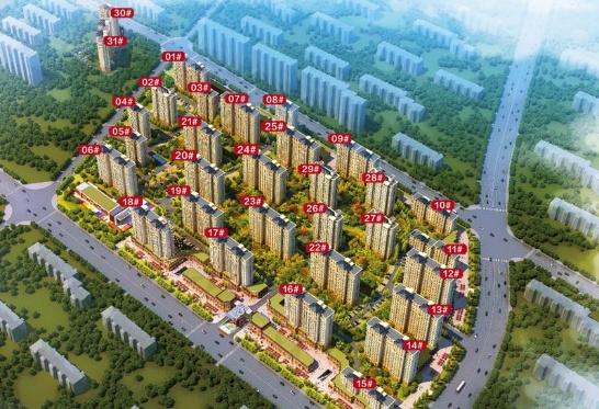 涿州新房印象城规划沙盘