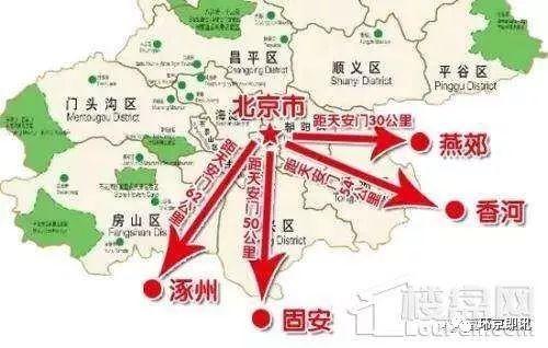涿州印象城地理位置价值