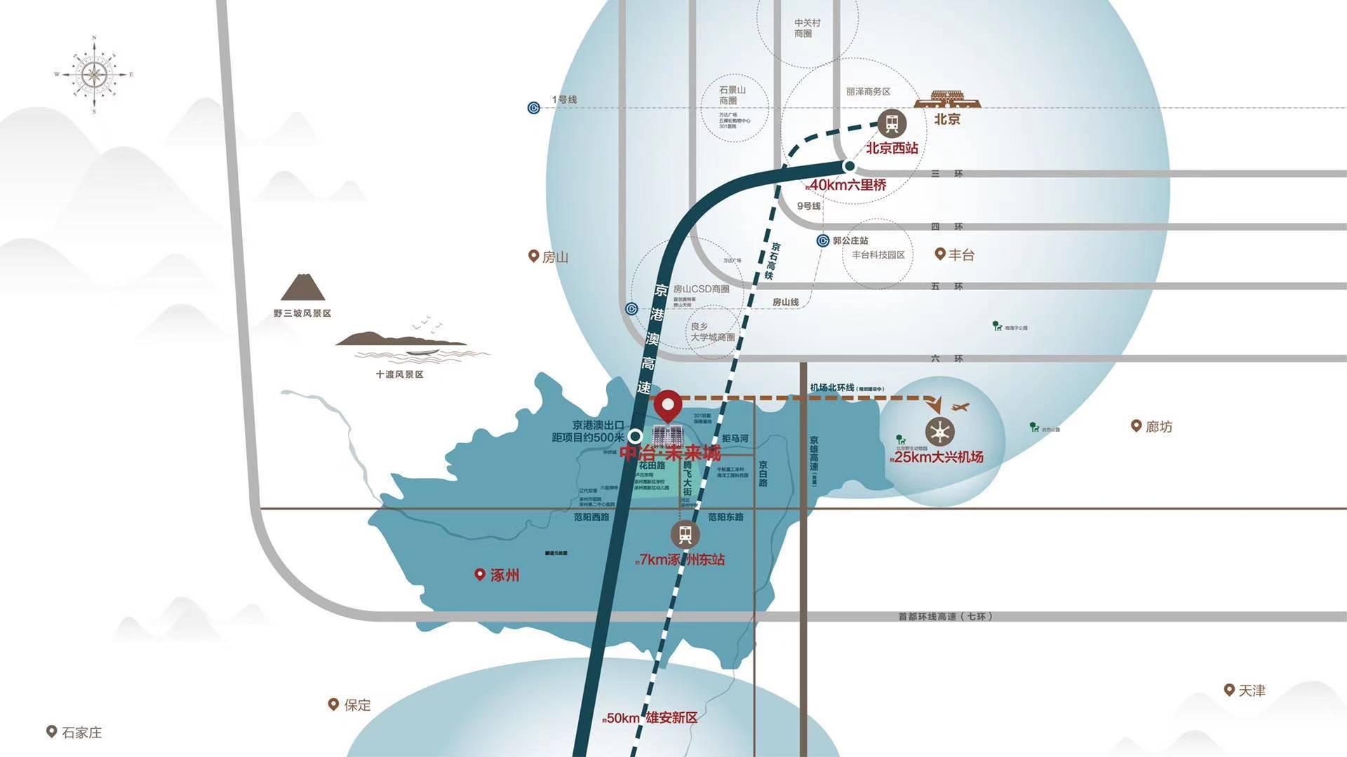 中冶未来城区位配套图