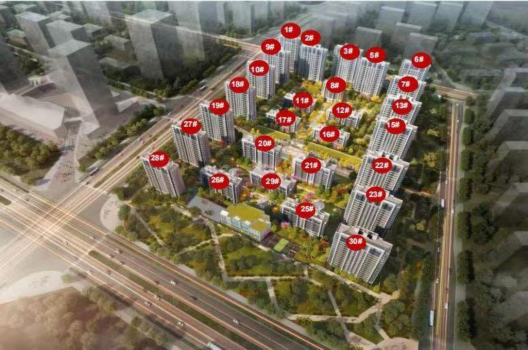 涿州中冶未来城规划沙盘