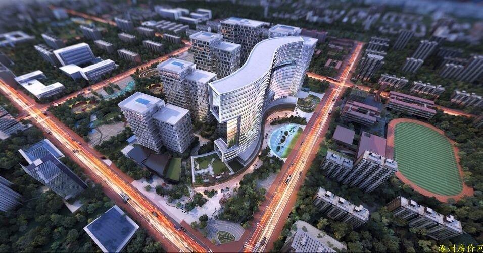 涿州千喜鹤楼盘规划图