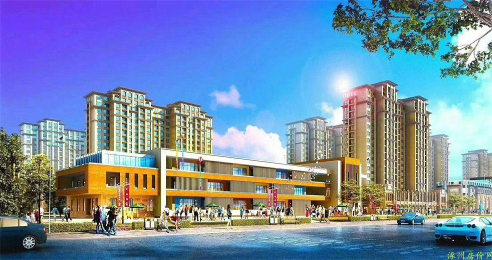 涿州印象城建成后效果图