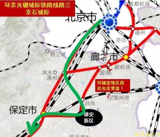 涿州距北京地理位置区位图
